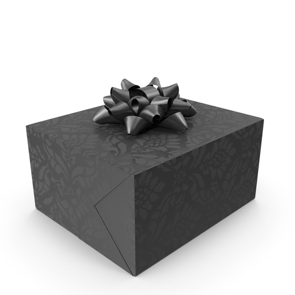 Gift Black PNG & PSD Images