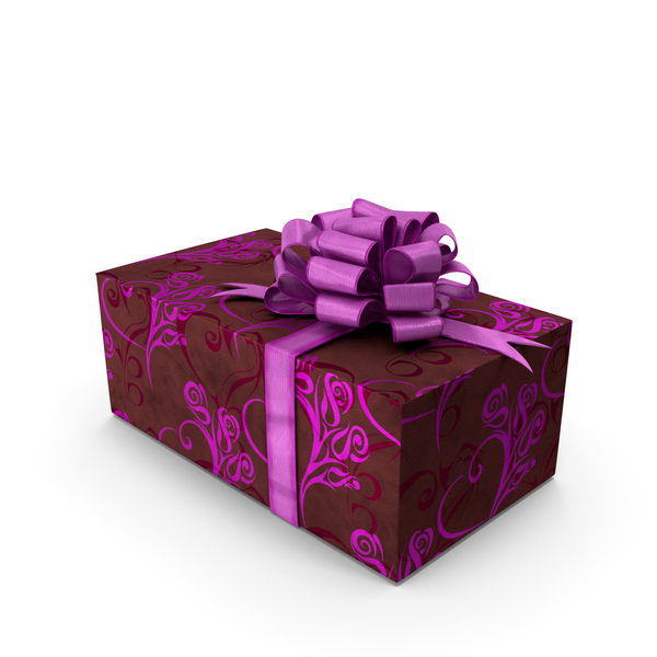Holiday Accessories: Gift Box Pink PNG & PSD Images