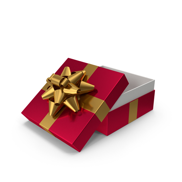 Gift Box With Bow PNG & PSD Images