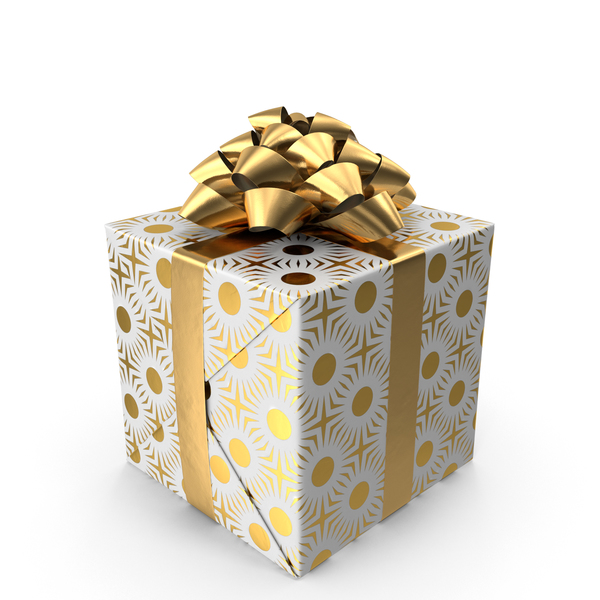 Gift Gold PNG & PSD Images