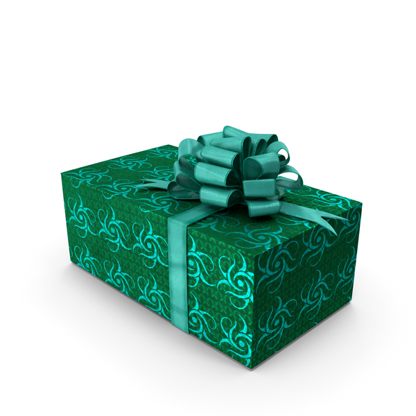 Giftbox Green PNG & PSD Images