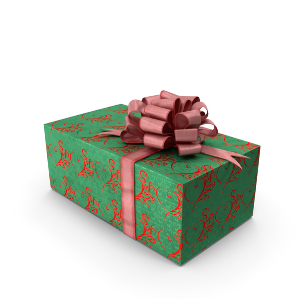 Giftbox Red Bow PNG & PSD Images