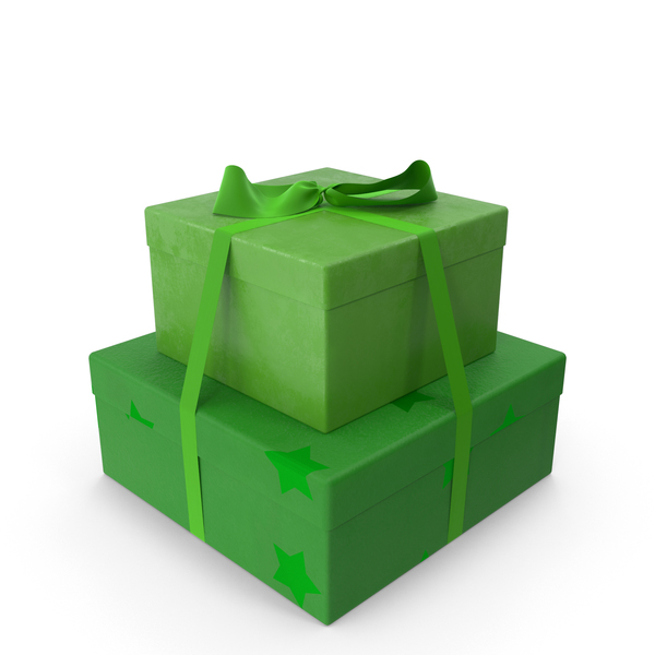 Gifts Green PNG & PSD Images