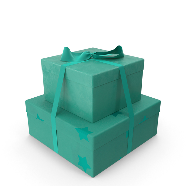 Gifts Teal PNG & PSD Images