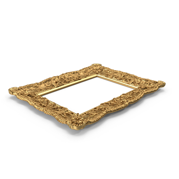 Picture: Gilt Painting Frame PNG & PSD Images