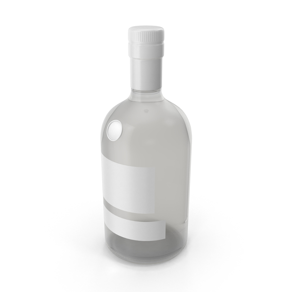 Gin Bottle Mockup PNG & PSD Images