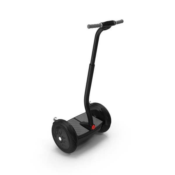 Two Wheel: Ginger Electric Scooter PNG & PSD Images