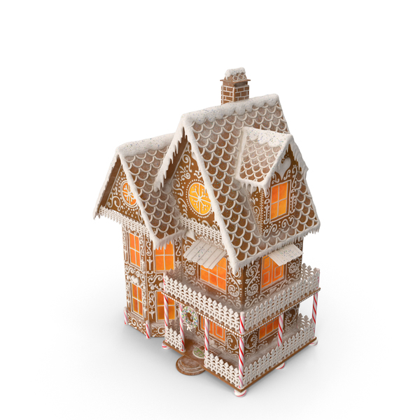 Gingerbread House PNG & PSD Images