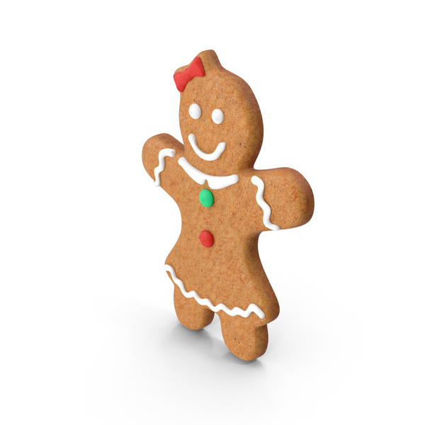 Gingerbread Woman PNG & PSD Images