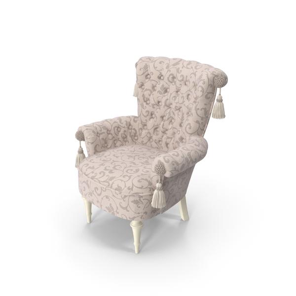 Giusti Portos Regina Fabric Chair PNG & PSD Images