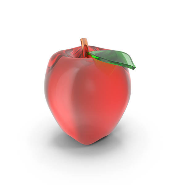 Glassware: Glass Apple PNG & PSD Images