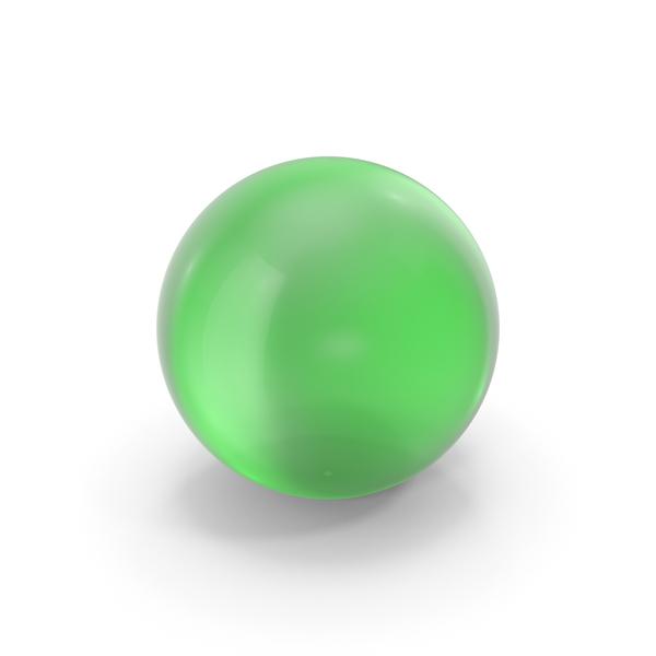 Baseball: Glass Ball Green PNG & PSD Images