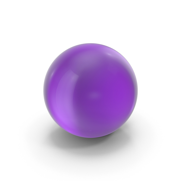 Sphere: Glass Ball Purple PNG & PSD Images