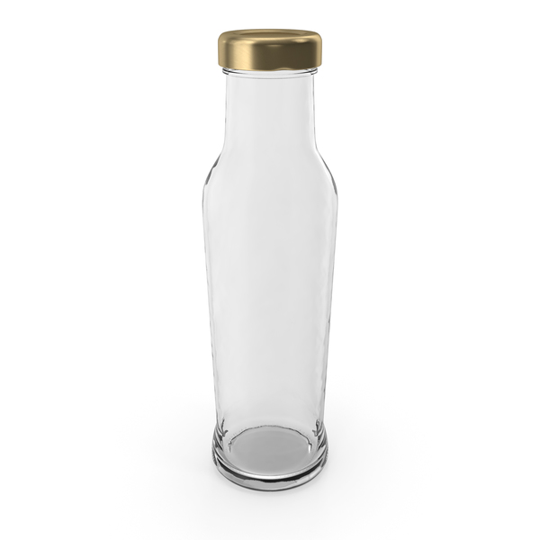 Glass Bottle Empty PNG & PSD Images