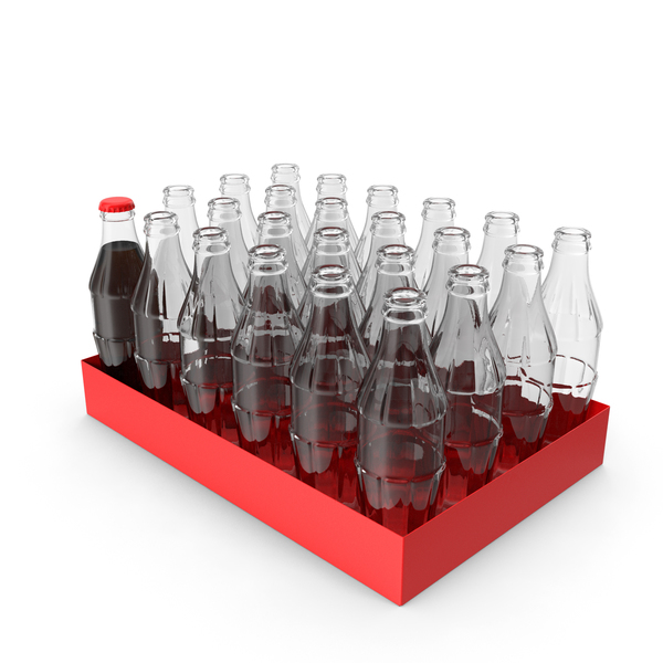 Glass Bottle Pack PNG & PSD Images