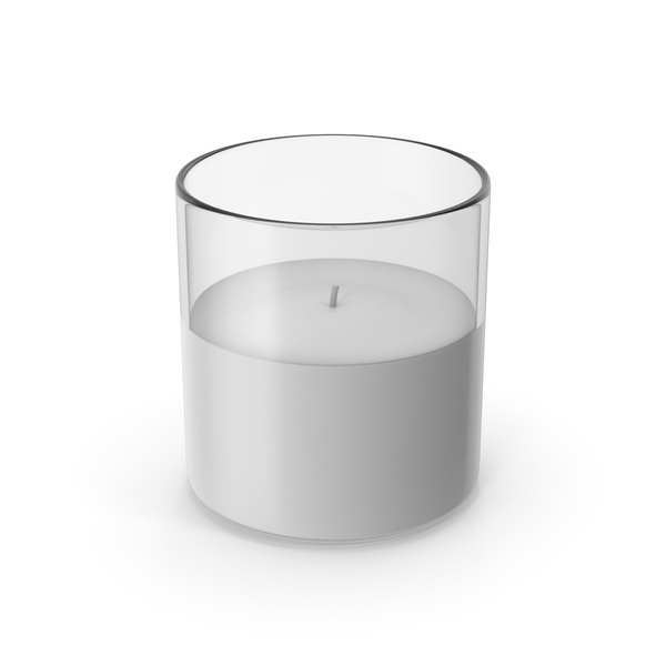 Glass Candle PNG & PSD Images