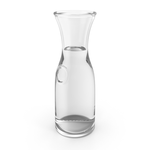 Glass Carafe with Water PNG & PSD Images