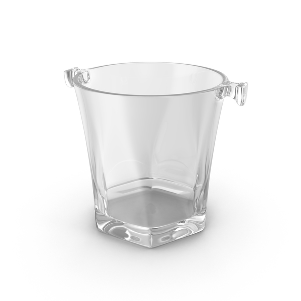 Glass Champagne Bucket Object