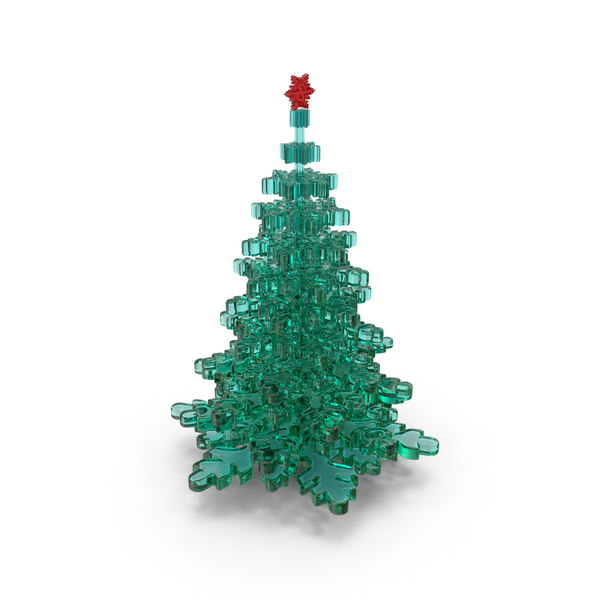 Glass Christmas Tree PNG & PSD Images
