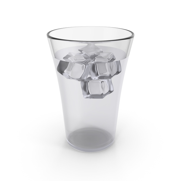 Glass Cup With Cold Water PNG & PSD Images