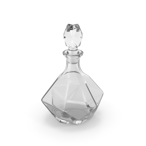 Glass Decanter PNG & PSD Images