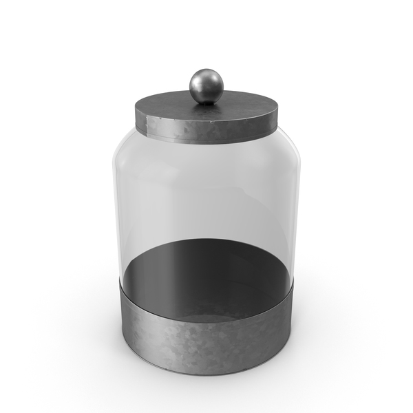 Container: Glass Food Canister PNG & PSD Images