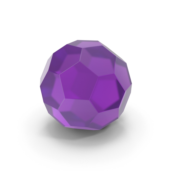 Glassware: Glass Hexagon Ball PNG & PSD Images