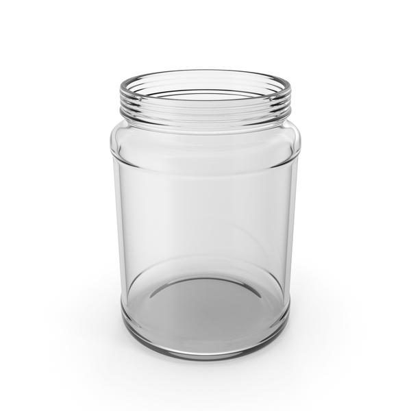 Glass Jar Empty PNG & PSD Images