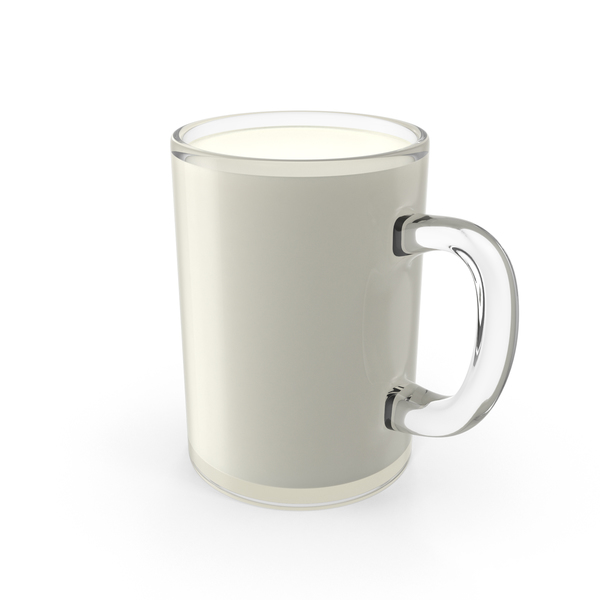 Glass Mug of Milk PNG & PSD Images