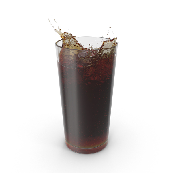 Soda: Glass of Cola PNG & PSD Images