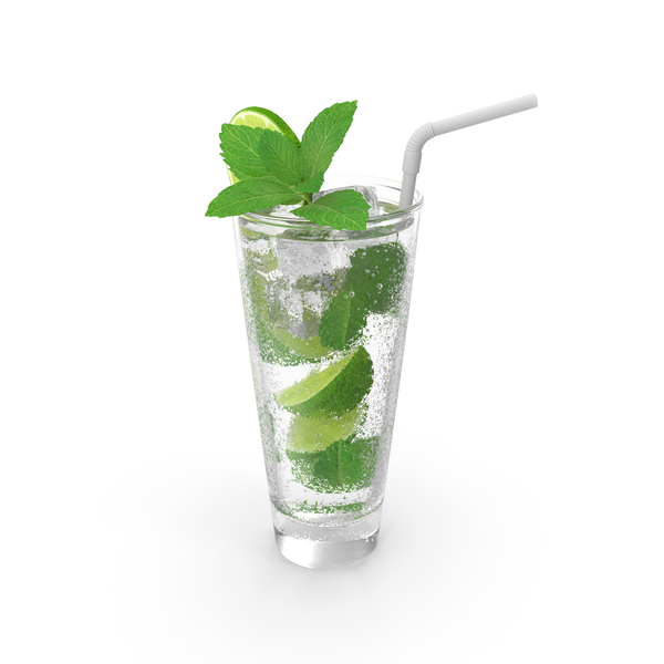 Glass of Mojito Cocktail PNG & PSD Images
