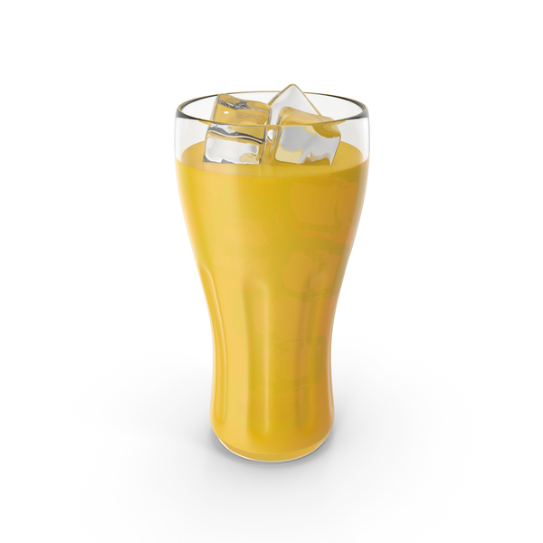 Glass of Orange Juice PNG & PSD Images