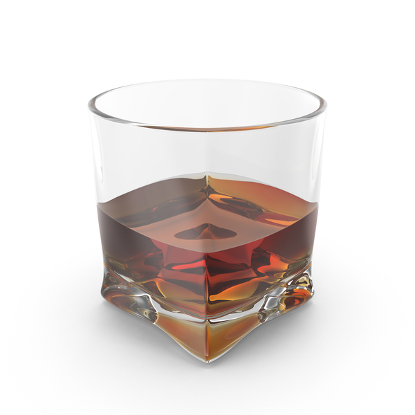 Glass of Whiskey Object
