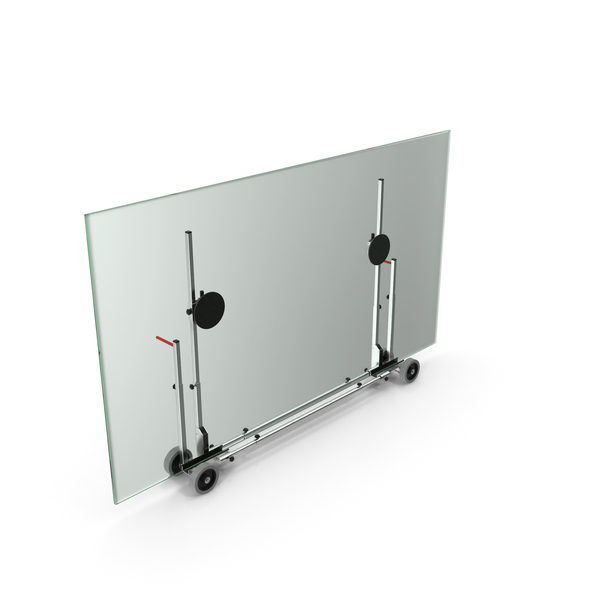 Glass Panel Transport Trolley PNG & PSD Images