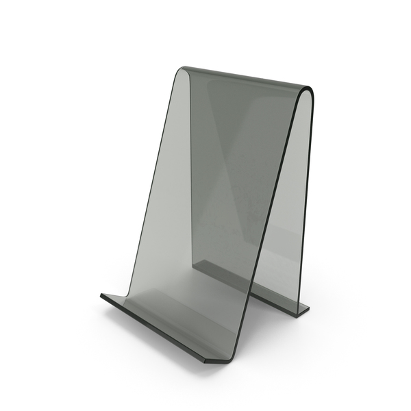 Cell Mount: Glass Phone Stand PNG & PSD Images