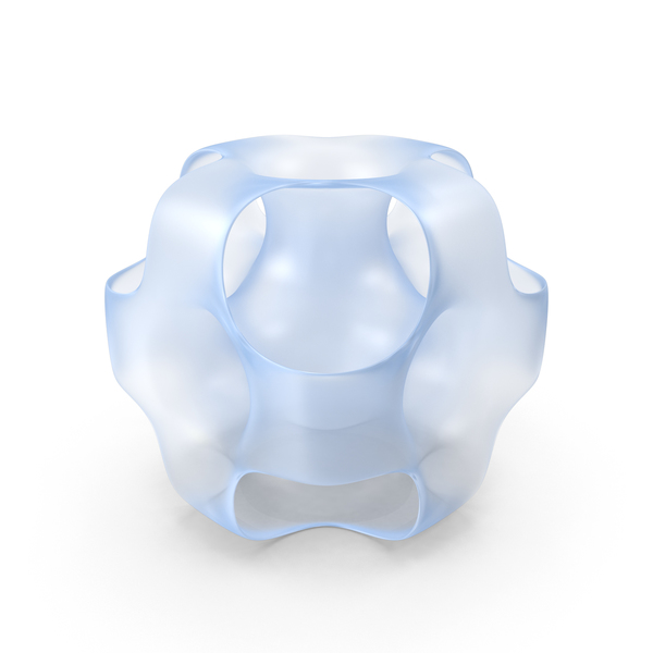 Glass Ported Cube PNG & PSD Images