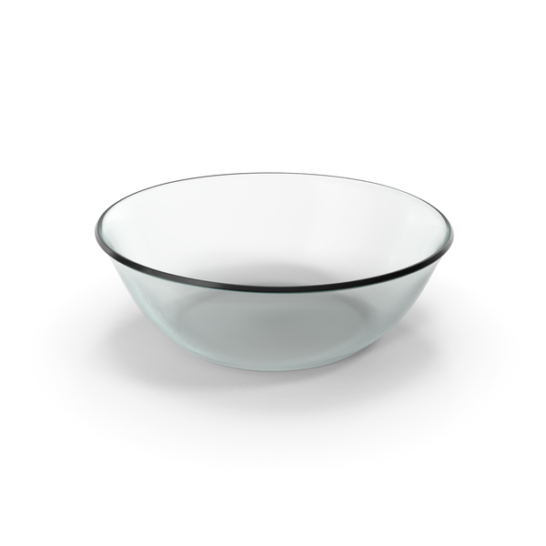 Glass Round Bowl PNG & PSD Images