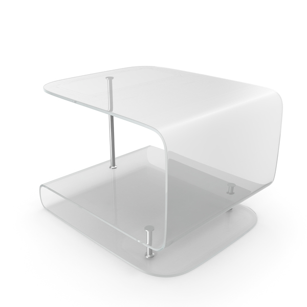 Glass Side Table PNG & PSD Images