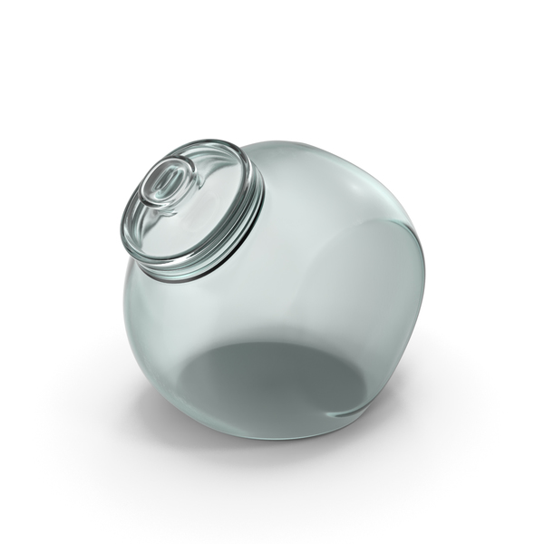 Glass Spherical Jar Closed PNG & PSD Images
