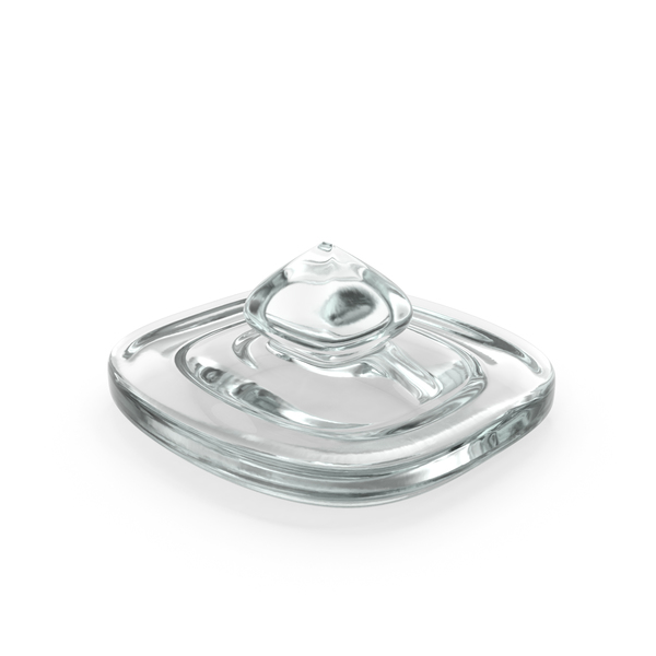 Glass Square Jar Top PNG & PSD Images