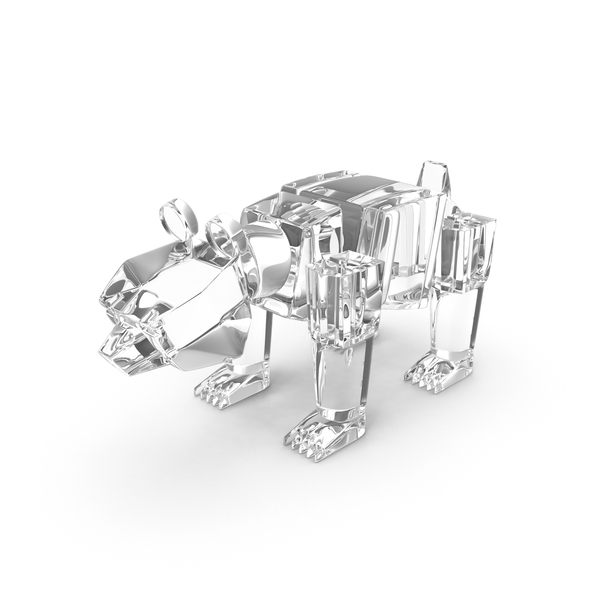 Glass Toy Bear PNG & PSD Images