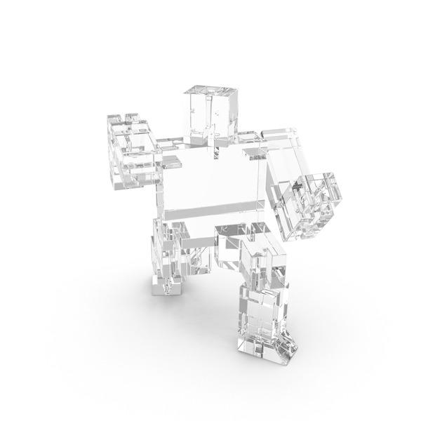 Glass Toy Robot PNG & PSD Images