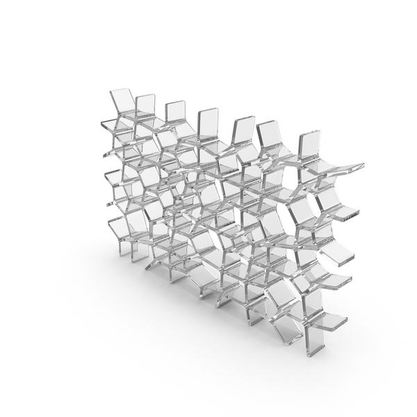 Glass Voronoi Wall PNG & PSD Images