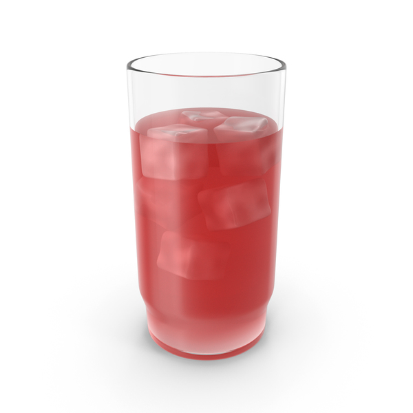 Glass With Cold Red Juice PNG & PSD Images