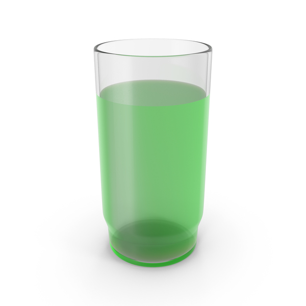 Water: Glass With Green Juice PNG & PSD Images