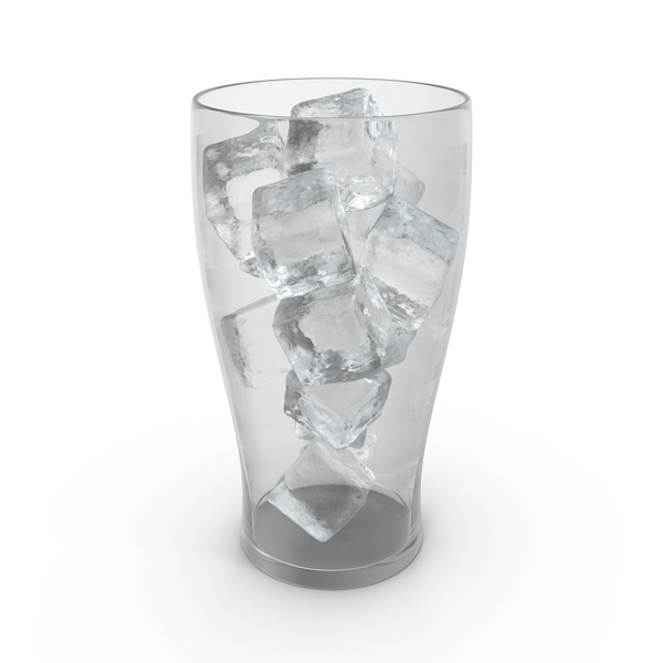 Glass with Ice PNG & PSD Images