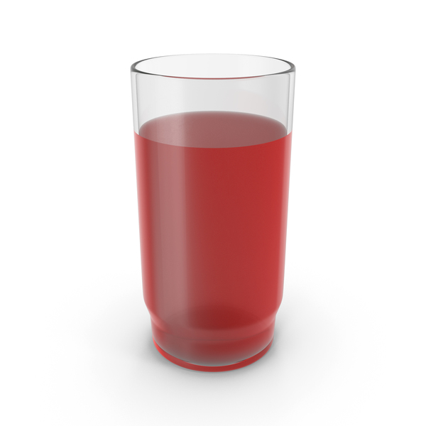 Glass With Red Juice PNG & PSD Images