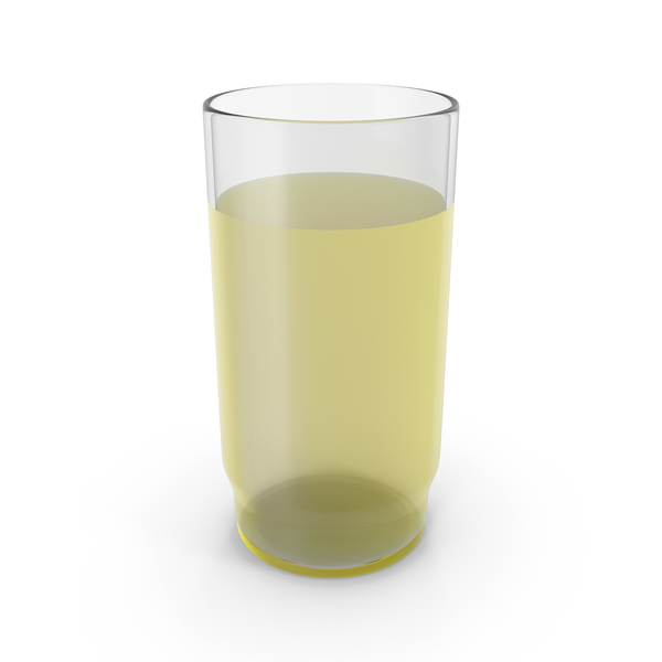 Glass With Yellow Juice PNG & PSD Images