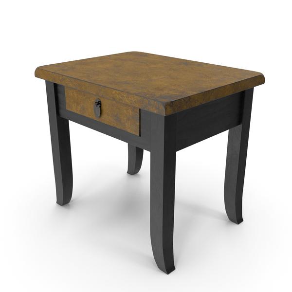 Glit Bedside Table PNG & PSD Images