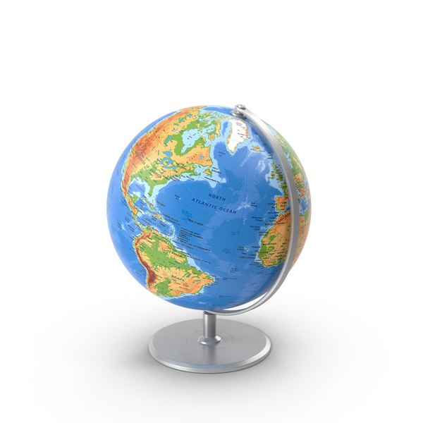 Globe on Stand PNG & PSD Images